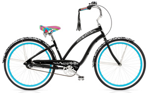 Cruiser Blanc et Noir 7i Black Ladies'