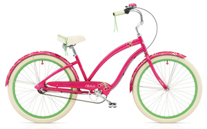 Cruiser Cherie 3i Hot Pink Ladies'