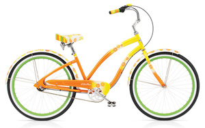 Cruiser Daisy 3i Yellow Fade Ladies'