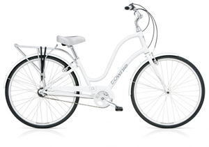 Townie Euro 3i White Ladies'