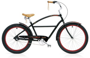 Cruiser Ratrod Deluxe 3i Black Men's
